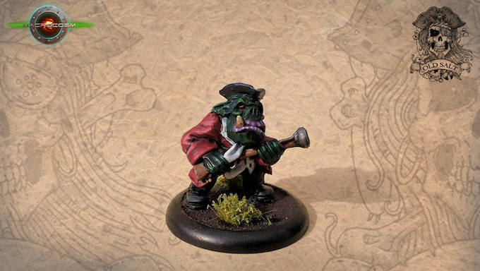 Orc With Blunderbuss Goal Unlocked