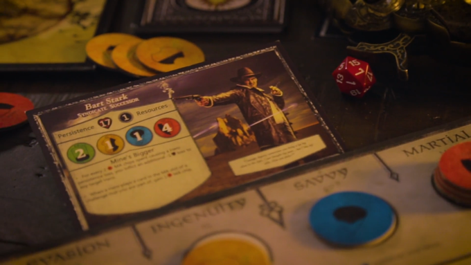 Each player has their own character and sideboard from which to operate