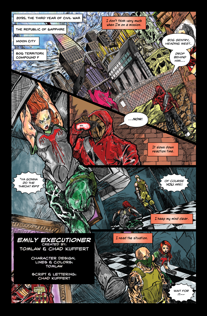 Emily Executioner Page 1