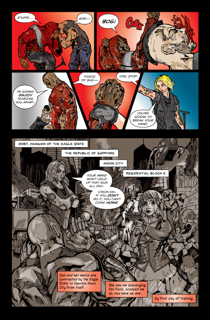 Emily Executioner Page 5