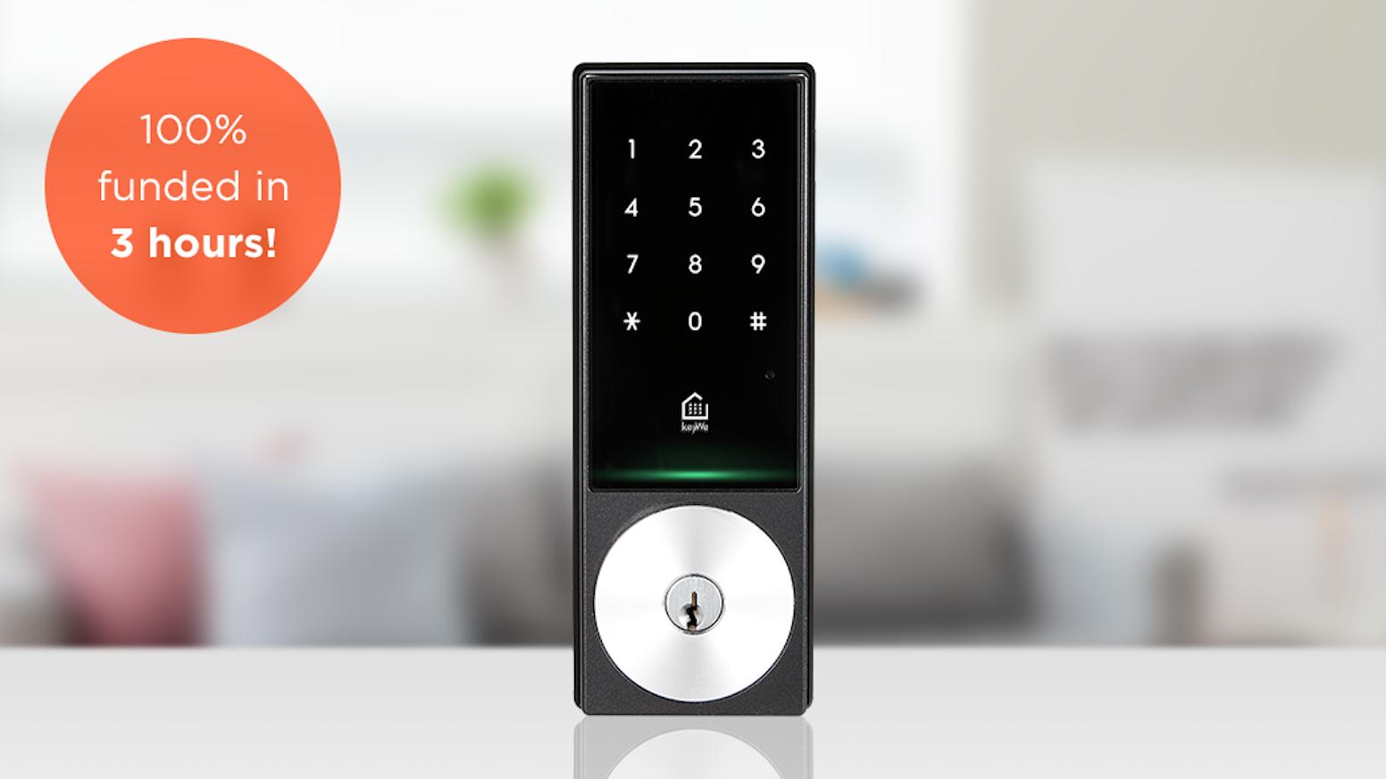 Keywe The Smartest Lock Ever By Kickstarter Intelligent Electronic Smart Redefined