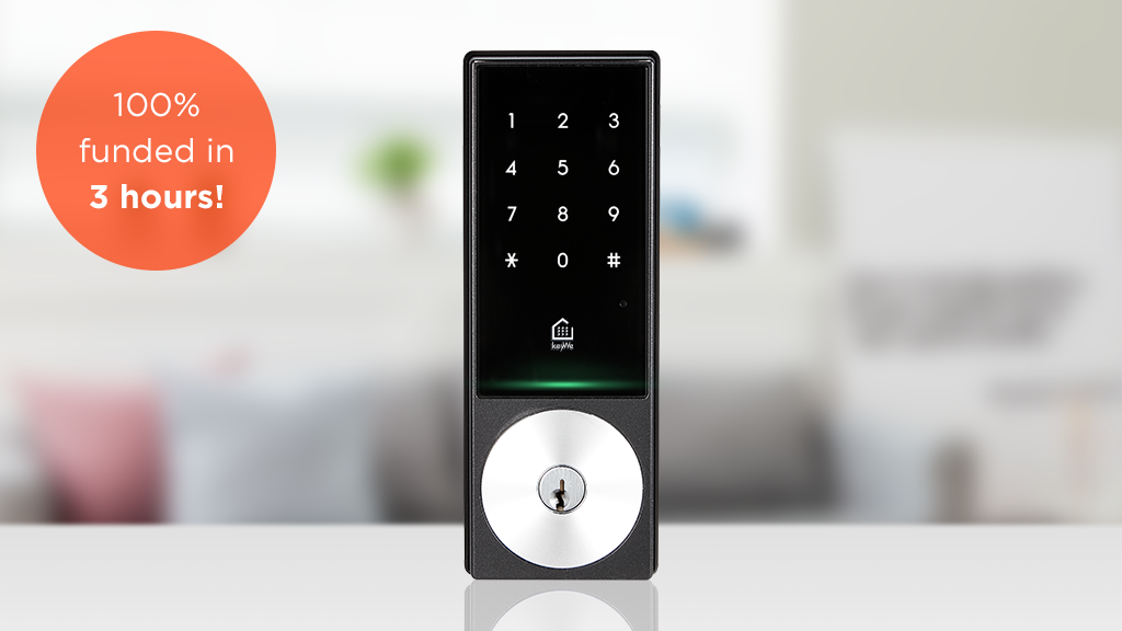 KeyWe : THE SMARTEST LOCK EVER! project video thumbnail