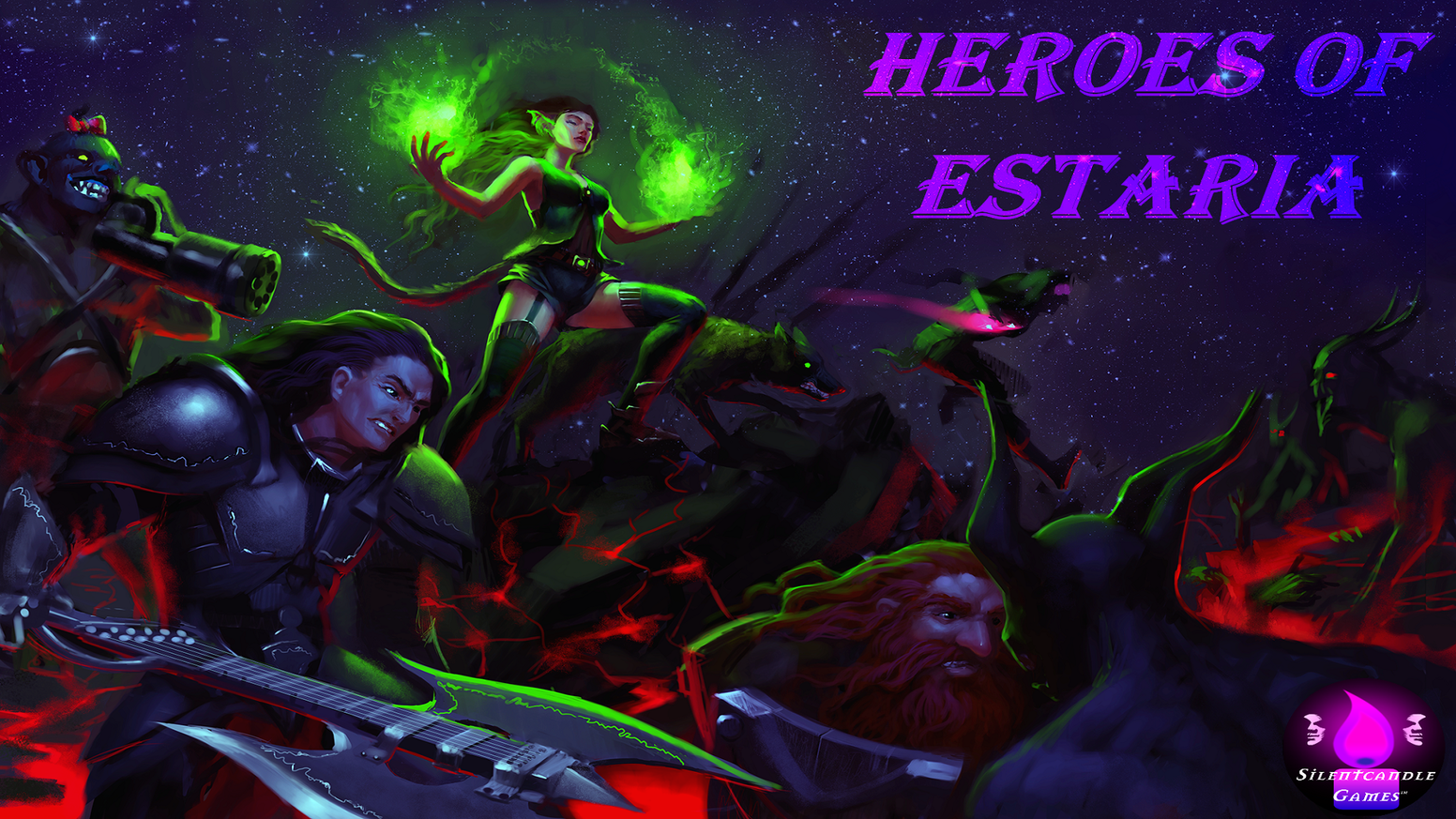 Heroes of Estaria is a Fantasy Roleplaying Game aimed at Tabletop Gamers of just about any skill level.