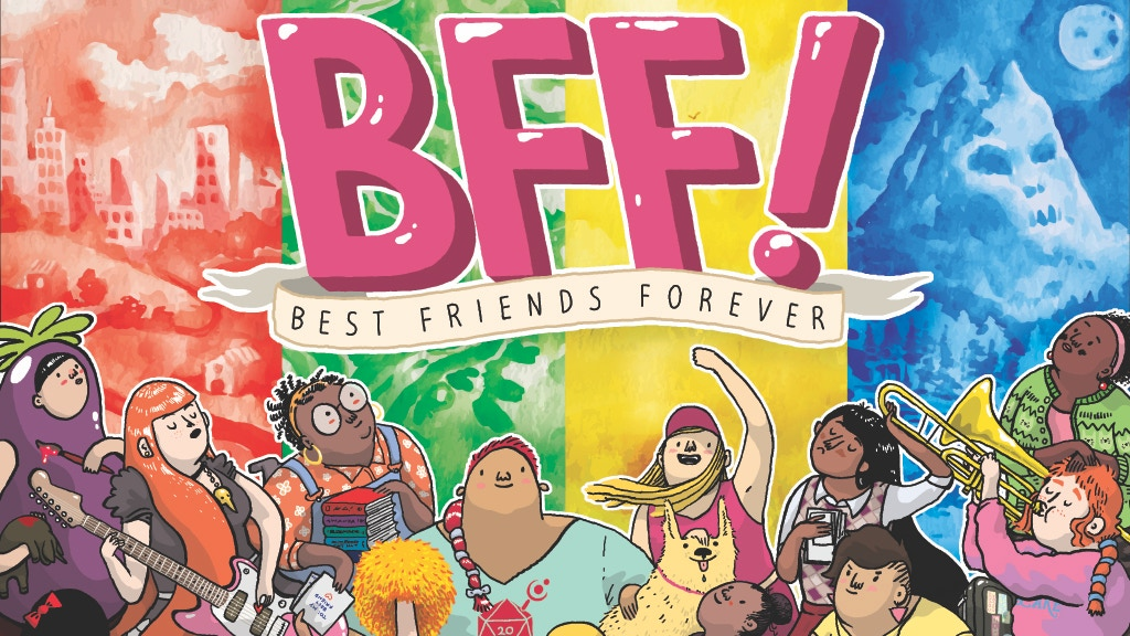 BFF! – The rpg of girlhood, friendship, and adventure! project video thumbnail