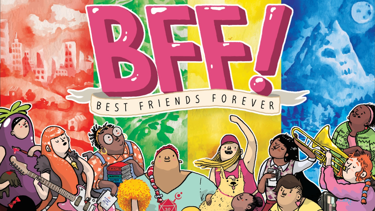 BFF! – The rpg of girlhood, friendship, and adventure! by