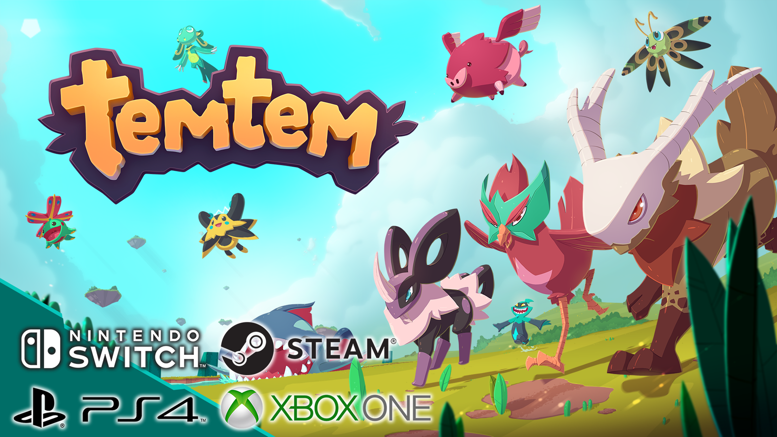 Temtem Massively Multiplayer Creature Collection Adventure By