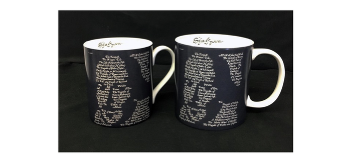The finished mug will be similar to these samples