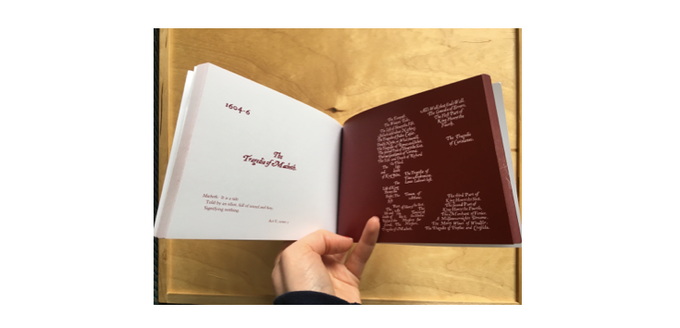 A spread from the flickbook