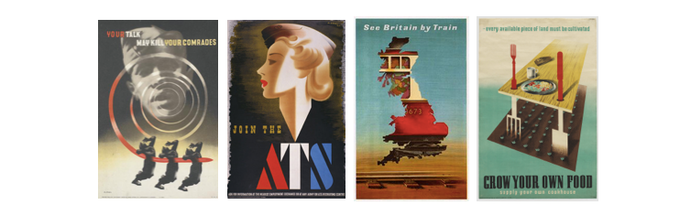 Some of Abram's best-known posters