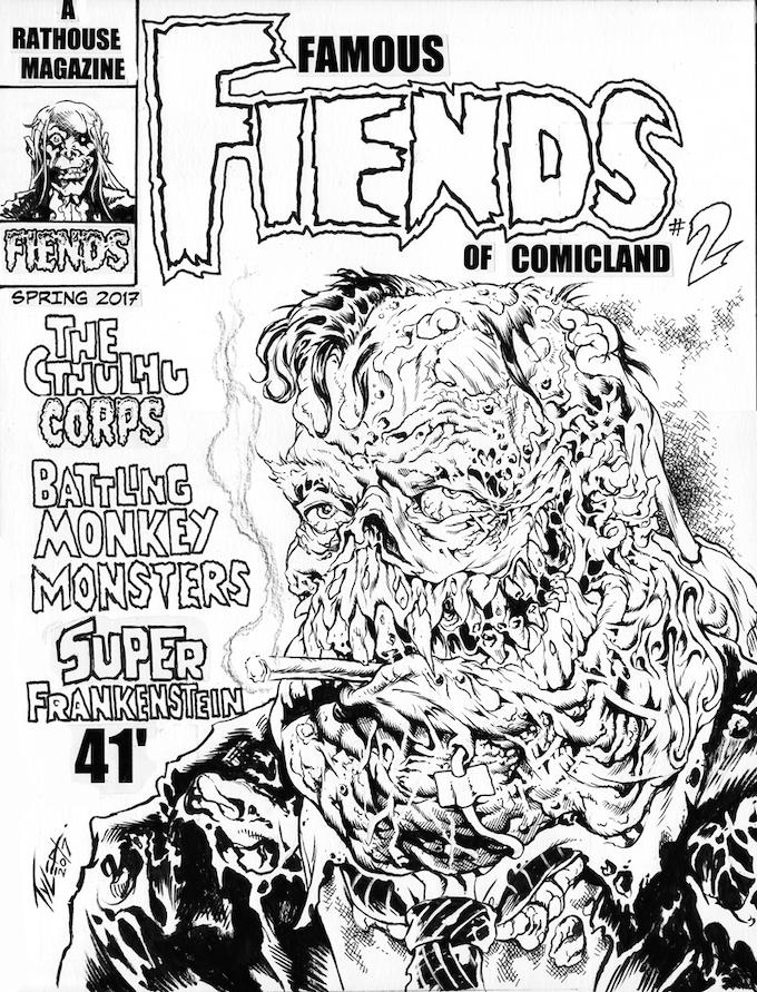 original cover art for Issue 2.