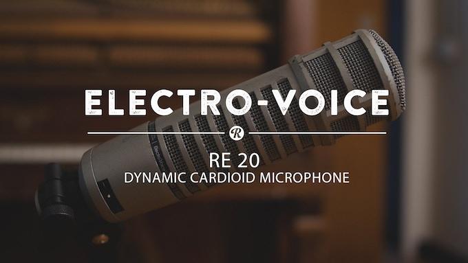 Electro-Voice RE-20 Dynamic Cardioid Dynamic