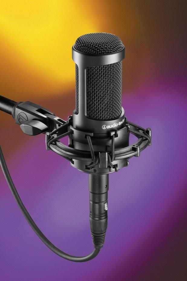 Audio-Technica AT2035 Cardioid Large Diaphragm Condenser