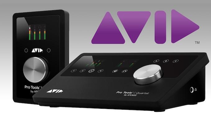 Avid ProTools Duet Quartet