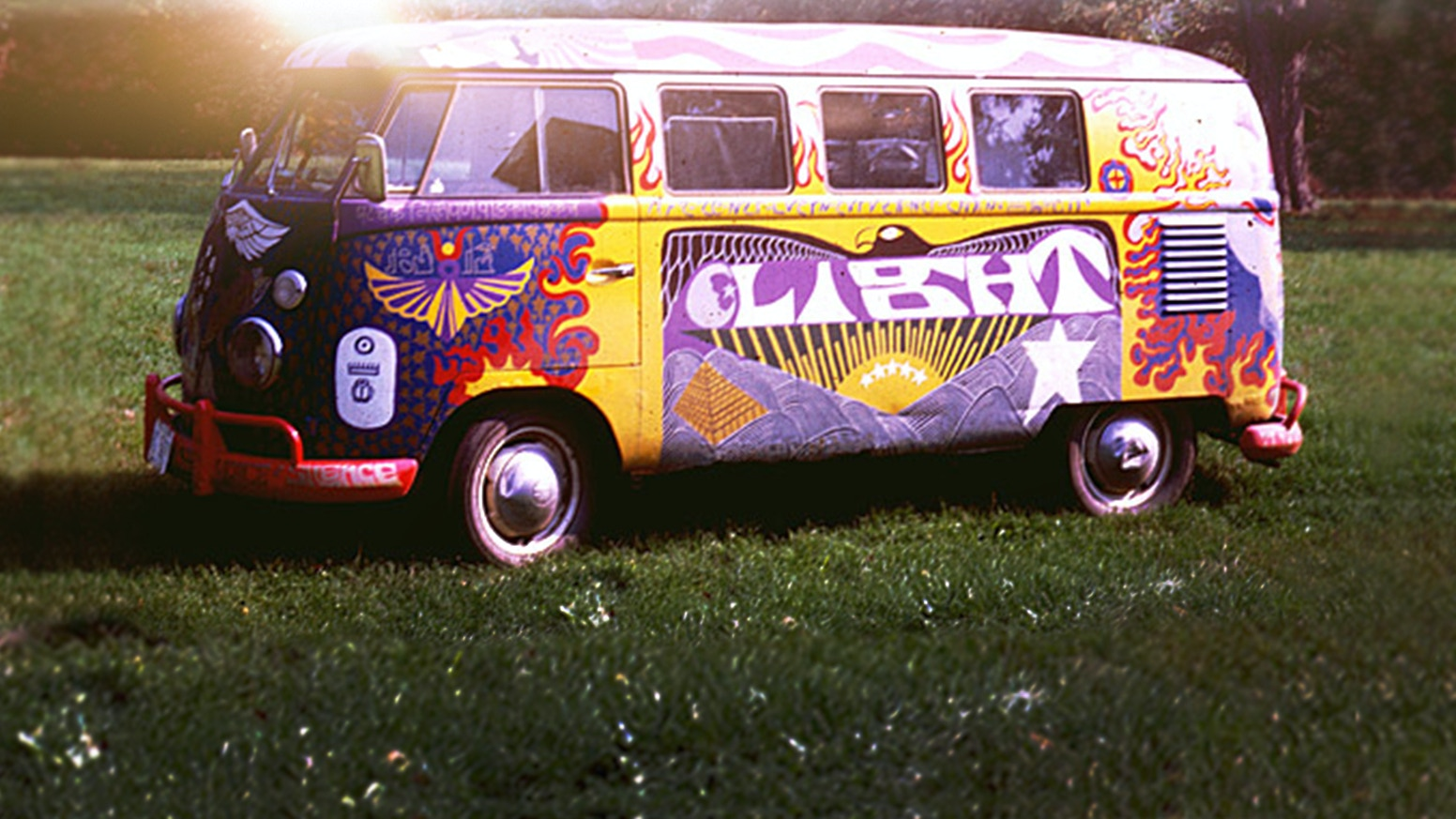 "A project to recreate the iconic Woodstock Bus, known as ""Light"", by its original artist for Woodstock's 50th Anniversary"