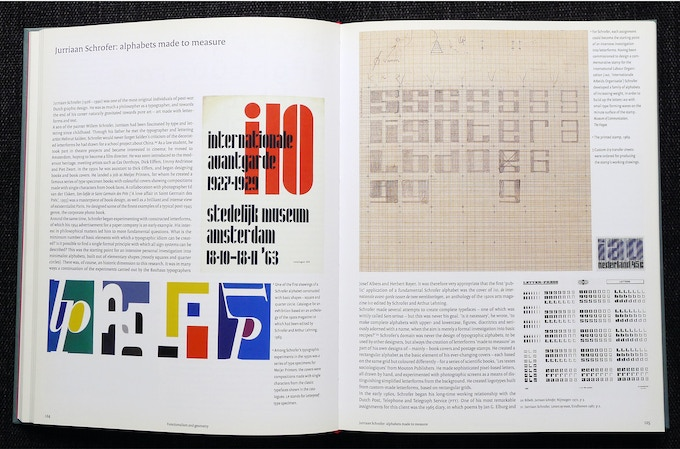 Double-page spread about Total Design and the work of Jurriaan Schrofer.