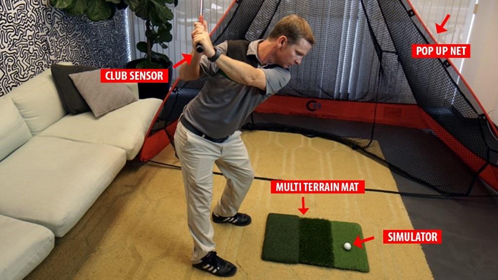 GEN i2: World's Smallest Golf Simulator