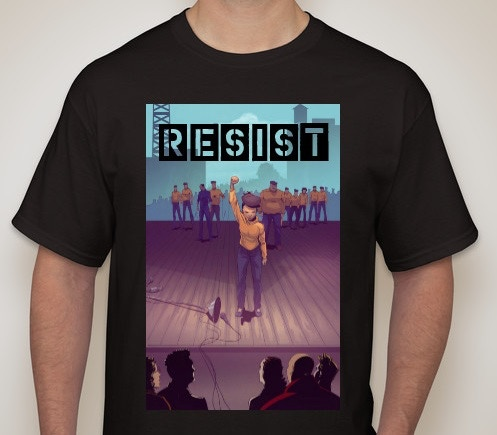 Kaneesha Resist T-shirt