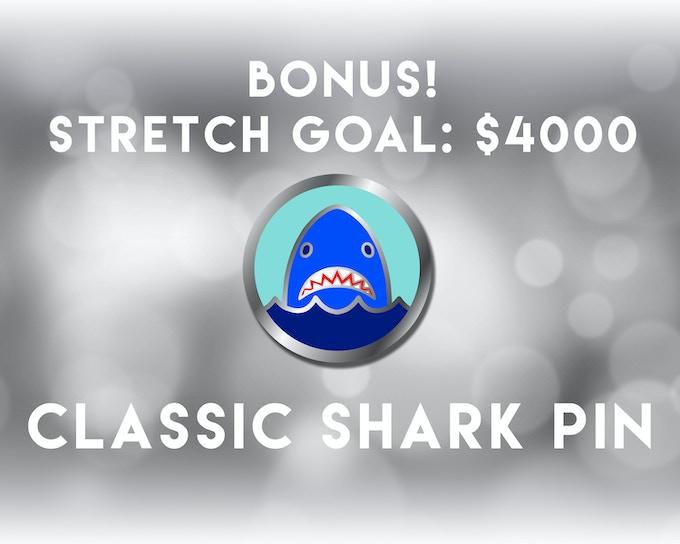 The Classic Shark Pin