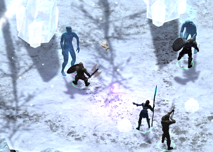 Tactical combat is one of the key features enabled by a good party.