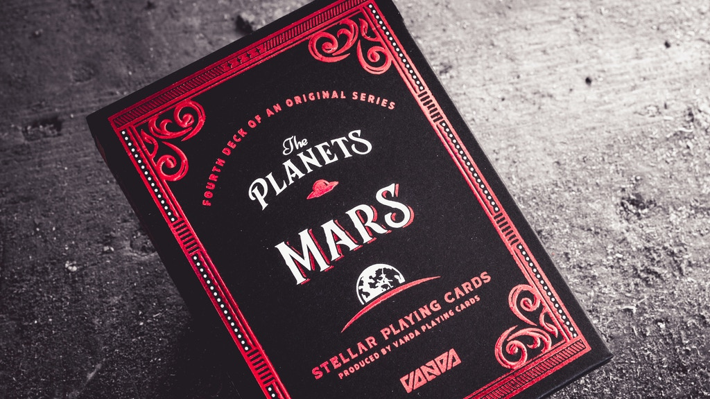 The Planets: Mars Playing Cards [4 of 8]