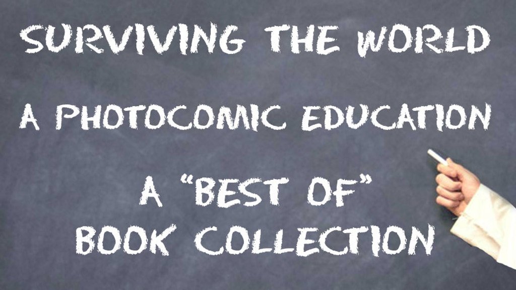"Surviving the World: A Photocomic Education: ""Best Of"" Book project video thumbnail"
