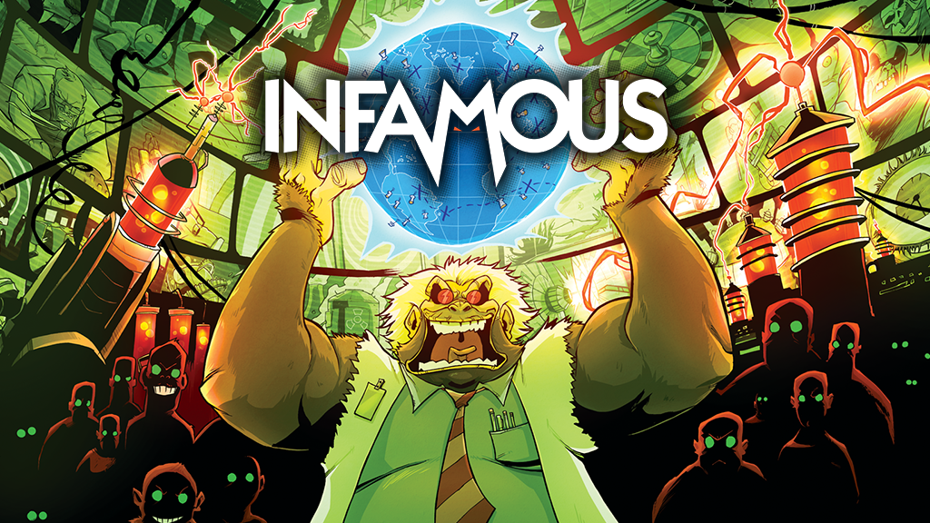 INFAMOUS - A Game of Evildoing for 2-5 Supervillains! is the top crowdfunding project launched today. INFAMOUS - A Game of Evildoing for 2-5 Supervillains! raised over $26850 from 0 backers. Other top projects include Proof of Coffee: A Community Roasting Space, Reclaimed America Docuseries, Kaleidoscope Playing Card Poker Deck, limited to 100, nsfw...