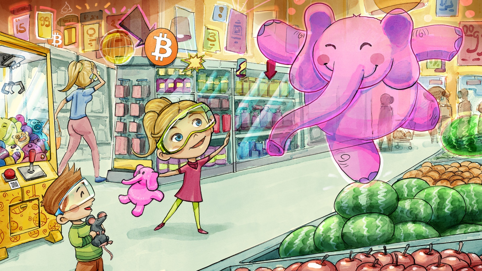 "Technology may be scary.  This sc-fi children's book isn't! Your child will love reading this fun story over and over again. (Title has changed to ""The Secret Castle in the Cloud: Lost Bitcoins"")"