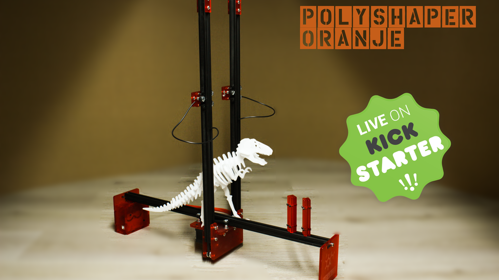 PolyShaper Oranje: High Precision Foam Cutting Machine project video thumbnail