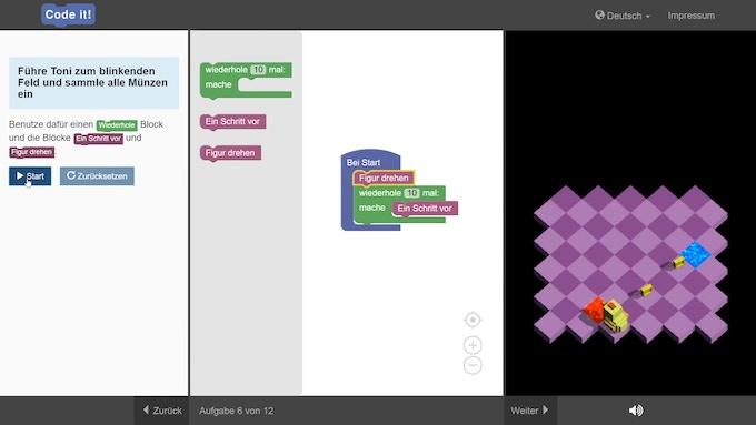 Programmieren lernen mit Online-Kursen