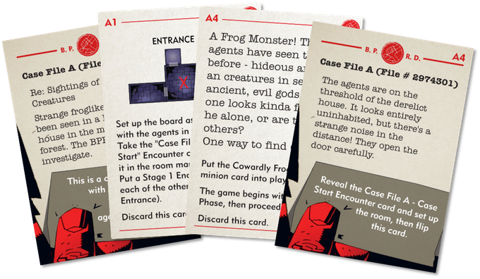 Work in progress Case File cards. Artwork/text subject to approval.