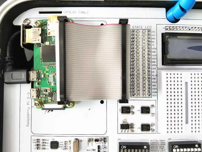 Install Raspberry Pi Zero On CrowPi Board