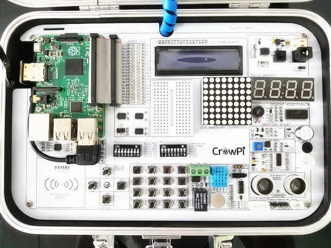 Install Raspberry Pi 3 on CrowPi Board