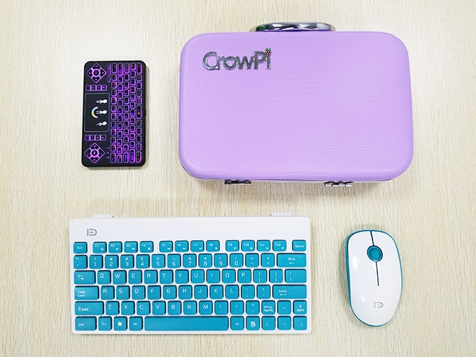Connect the bluetooth Keyboard and mouse with CrowPi