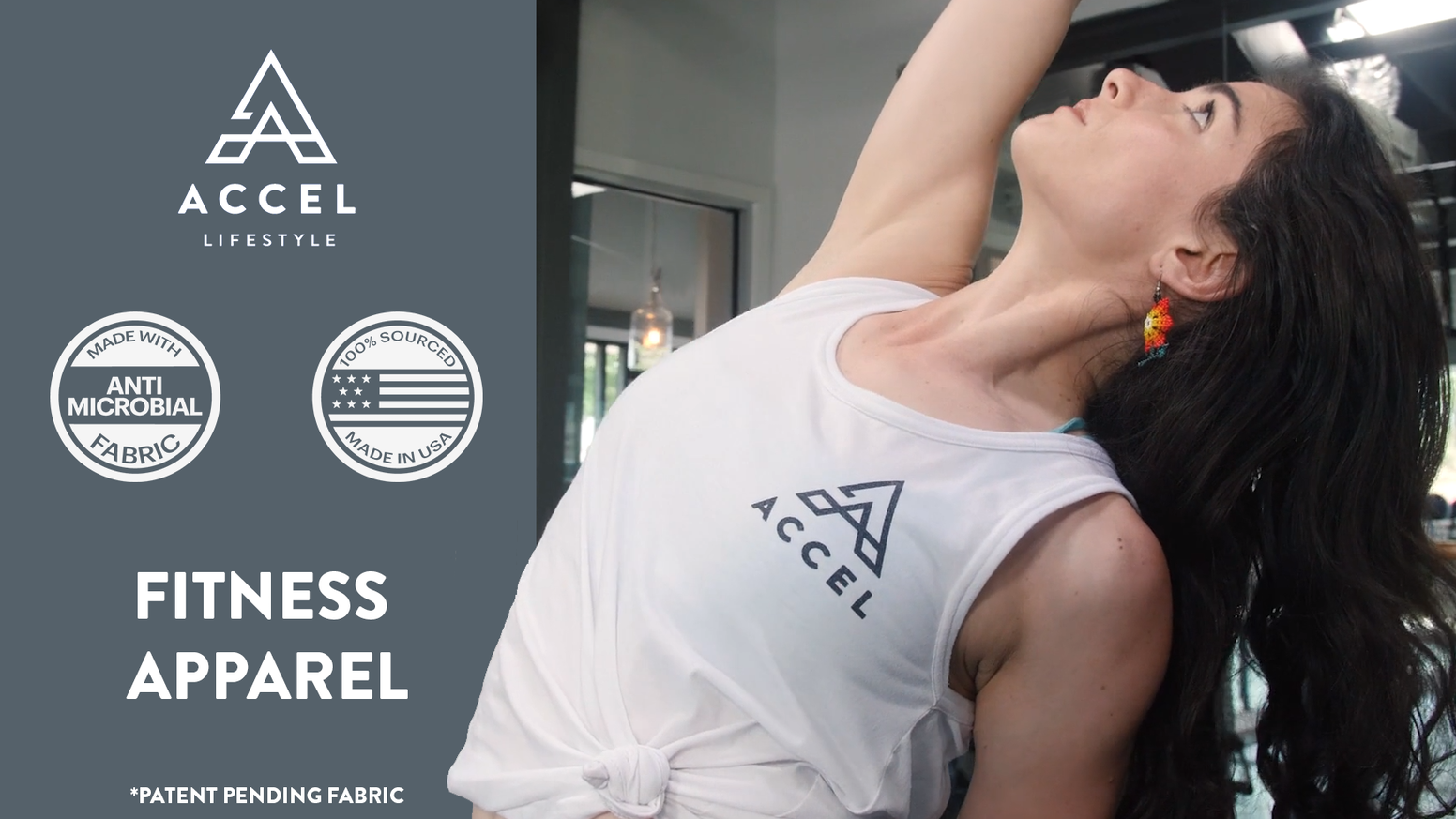 Started by a creative chemist, Accel Lifestyle is the first ethical activewear brand for people who sweat...and want to smell fresh.