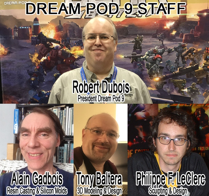 Dream Pod 9 Staff Photos,