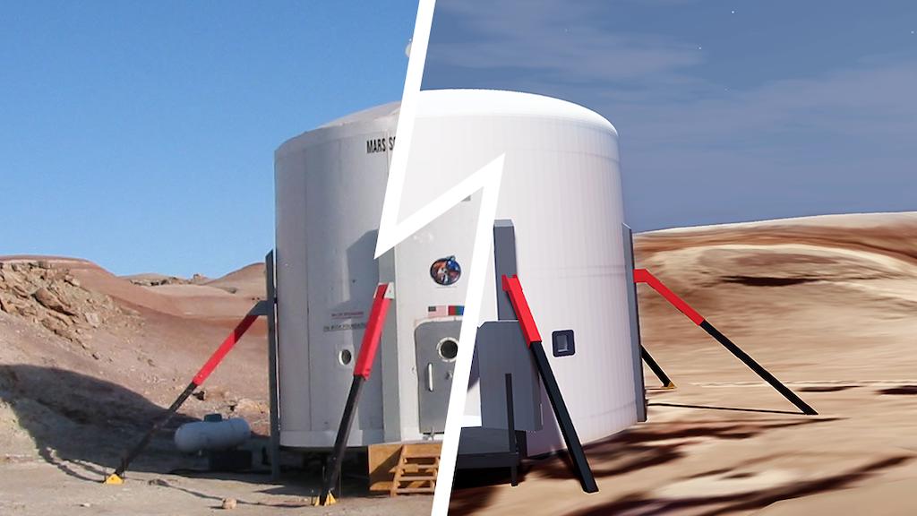MarsVR - Virtual Reality Platform To Support Exploring Mars project video thumbnail
