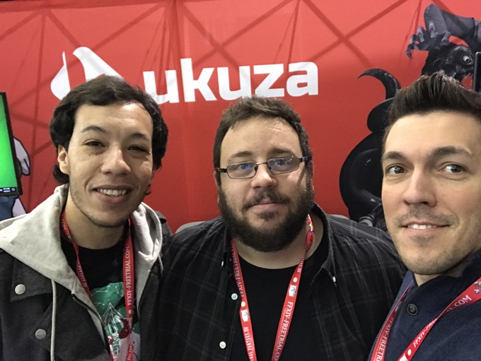 Ukuza at our booth at PAX East 2018