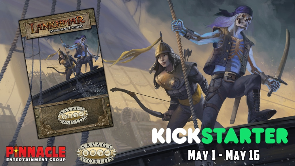 Lankhmar Savage Seas of Nehwon, a Fantasy RPG miniatura de video del proyecto