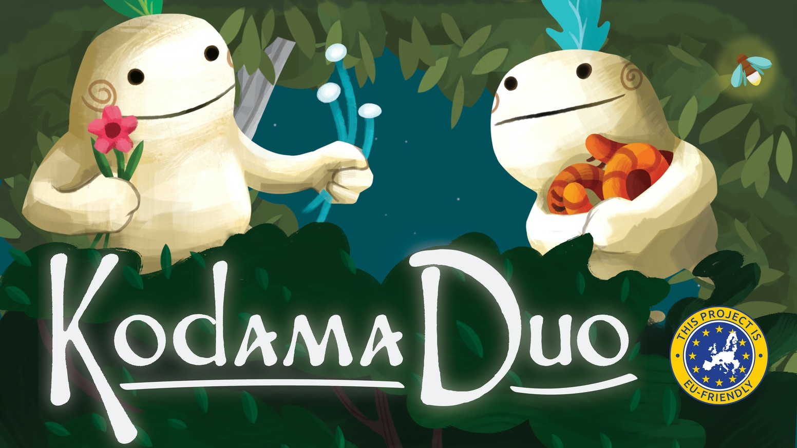 An inTREEguing two player version of Kodama: The Tree Spirits!