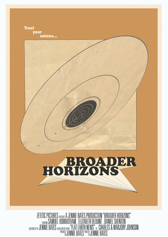 'Broader Horizons Poster', by Jennie Bates