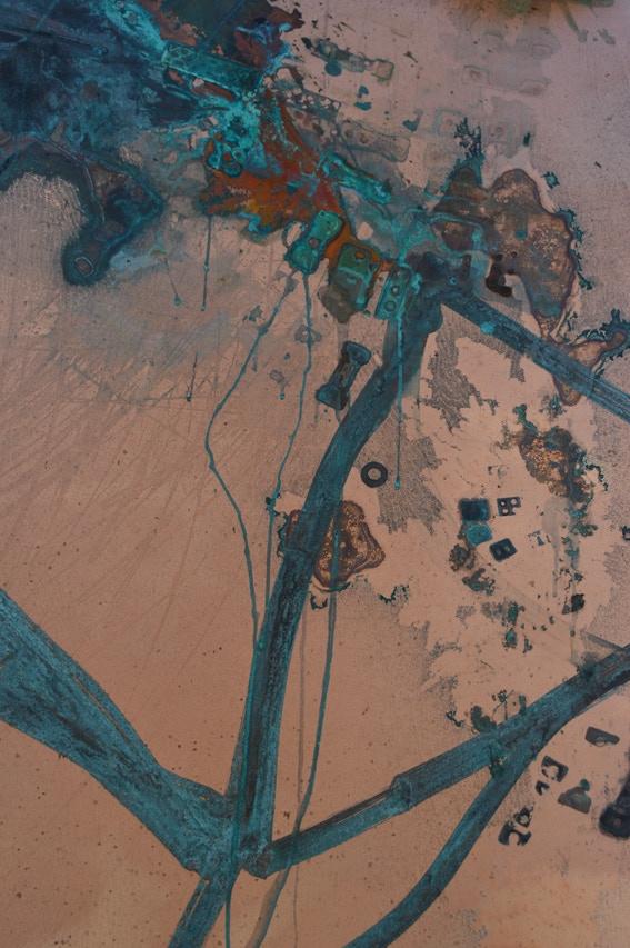 'Copper Drawing', by Jill Boualaxai