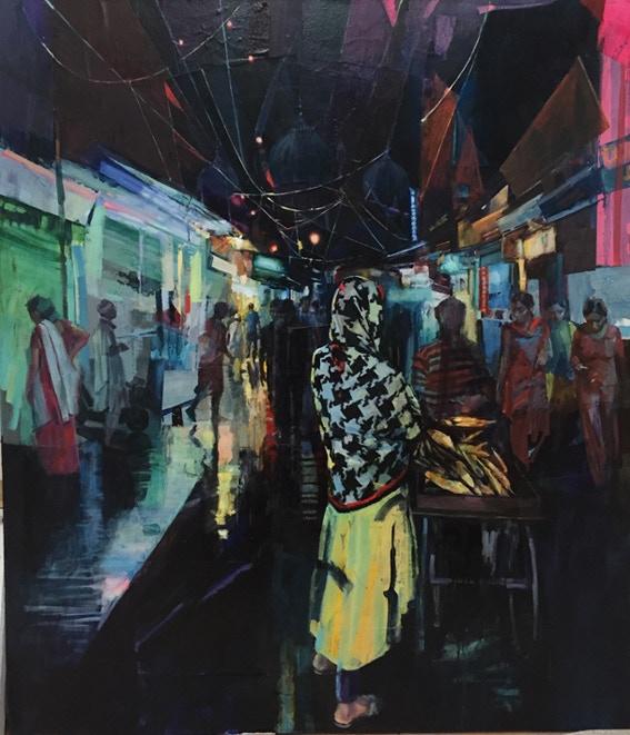 'Delhi Street Dreams', by David Martin