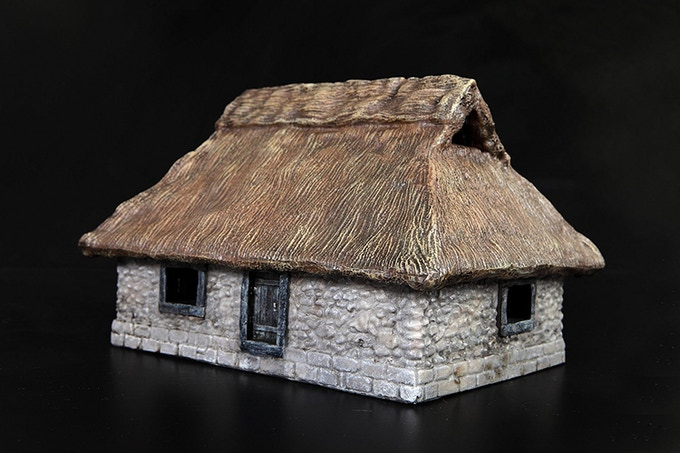 Stone House (painted print model)
