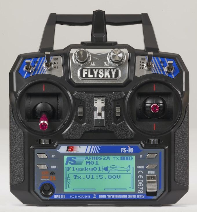 FlySky 2.4GHz Flight Controller Included