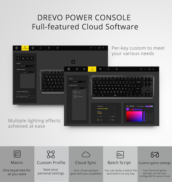 DREVO BladeMaster: Ultimate Keyboard with Programmable Knob by DREVO