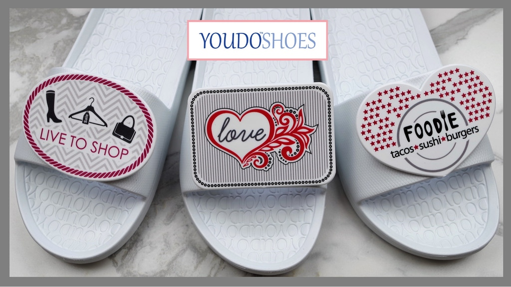Comfy Shoes With Interchangeable Shapes And Custom Designs