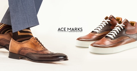 83f1775314ab Handcrafted Dress Shoes   Sneakers Reinvented For Modern Men by Ace ...