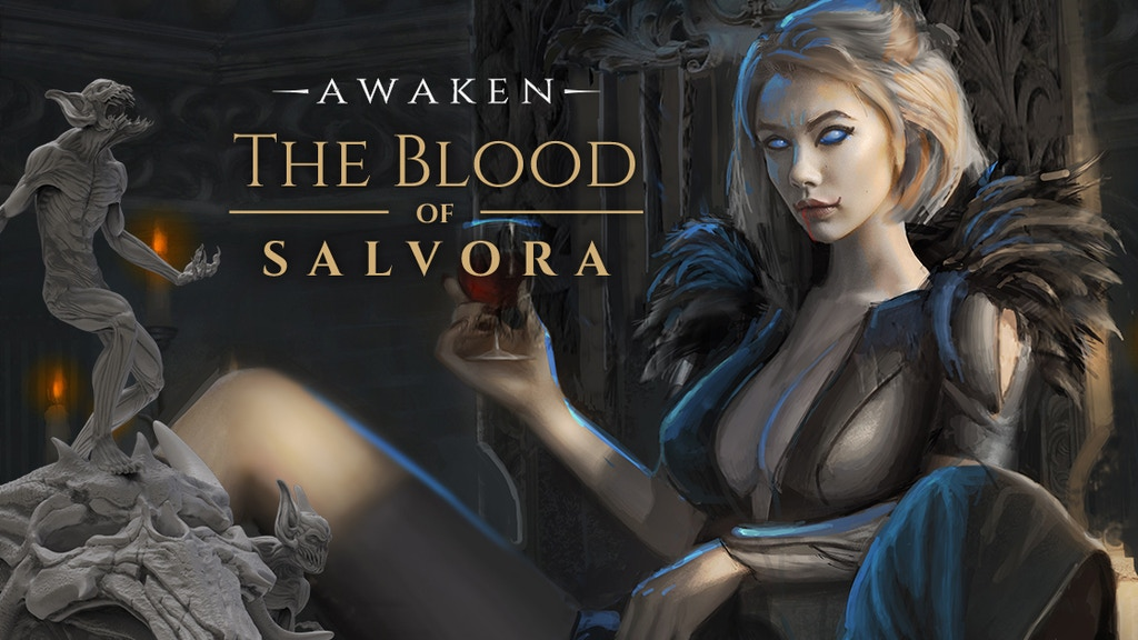 Awaken: The Blood of Salvora Roleplaying Game project video thumbnail