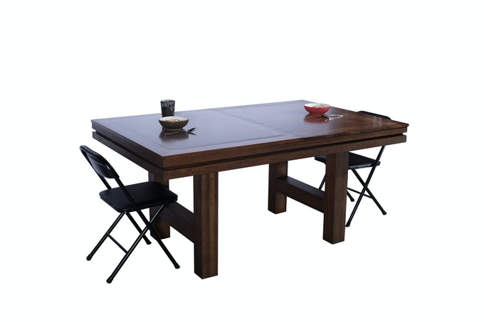 Dining Table in Cherry With Kona Stain