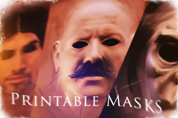 Printable masks are optional